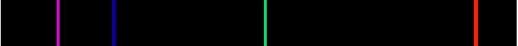 спектр испускания водорода